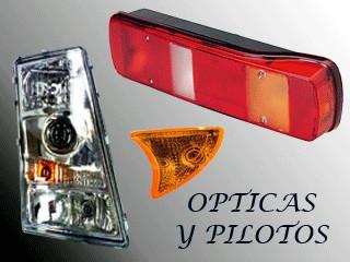 ILUMINACION - OPTICAS Y PILOTOS