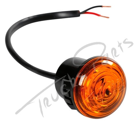 LUZ GALIBO IMPERMEABLE 1 LED NARANJA