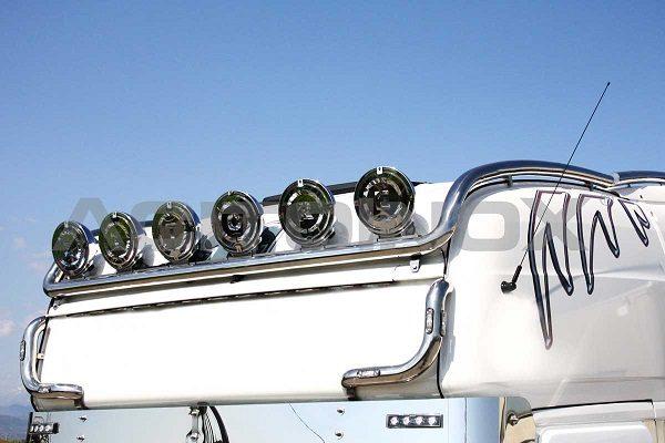 Barra portafaros modelo largo inox Scania R New R Streamline