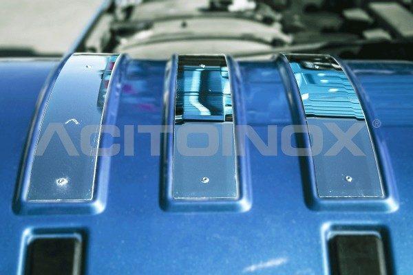 Aplicación guardabarros en acero inoxidable Volvo Fh 4