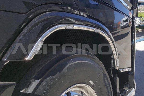 Protector guardbarros Volvo Fh 4 acero inoxidable