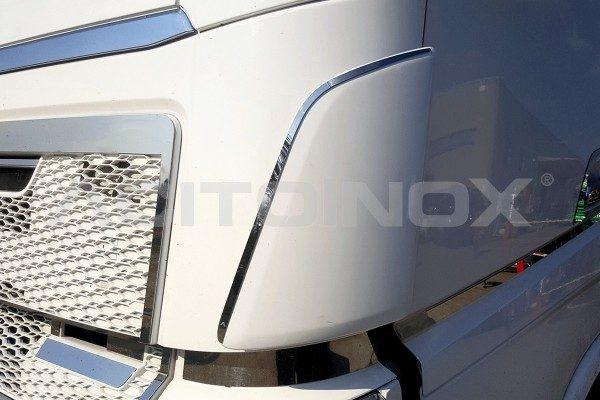 Perfil deflector delantero acero inoxidable Volvo Fh 4