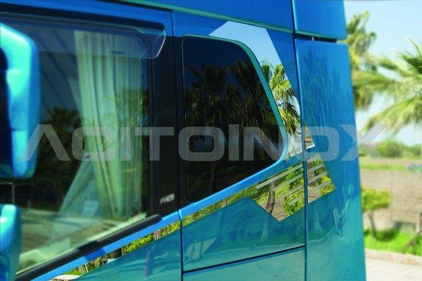 Perfiles ventanas acero inoxidable Volvo Fh 4
