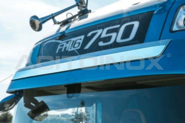 Embellecedor visera parasol acero inoxidable Volvo Fh 4