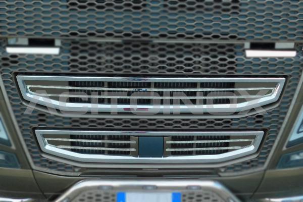 perfil interior calandra en acero inoxidable Volvo Fh 4