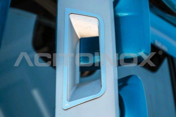 Perfil interior retrovisor Volvo FH 4