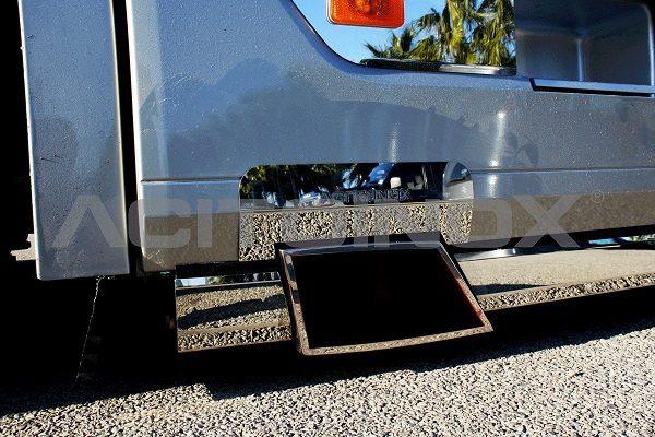 salida escape con protector acero inoxidable Volvo Fh 4