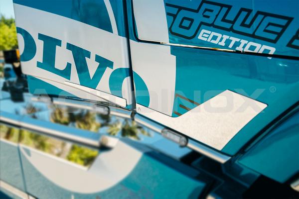 Embellecedor spoiler trasero acero inoxidable Volvo FH 4