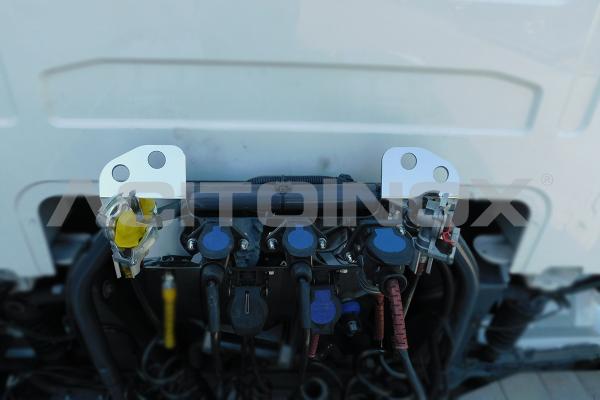 aplicación soporte mangueras Volvo Fh 4 acero inoxidable