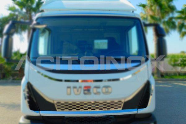 aplicacion perfil calandra inferior iveco eurocargo new model