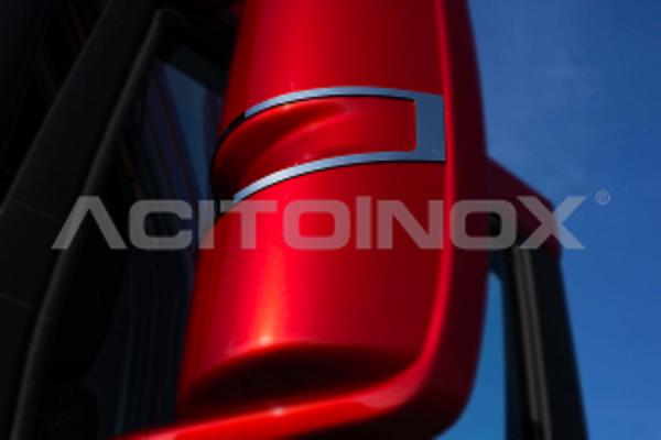 Embellecedor retrovisor acero inoxidable Iveco S-way